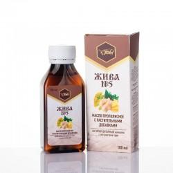 Масло с прополисом и растительными добавками «ЖИВА №5»