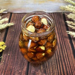 Мёд с лесным орехом (фундуком)