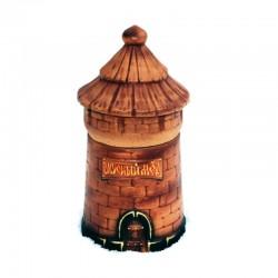 Горшочек глиняный для меда «Башня»